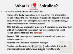 10 Bottles DXN Spirulina 500 Tablets Organic Antioxidant Immune System Booster