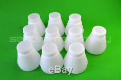 10 pcs hopper cup Bottle for powder coating system PC02 PC03 paint spray gun