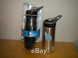 2 NEW Camelbak Groove 20oz BPA Free Water Bottle Filtration System only 1 Filter