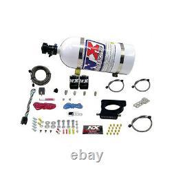 20935-05 Nitrous Express Ls 3-bolt Nitrous Plate System 5lb Bottle