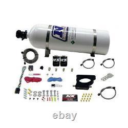 20935-15 Nitrous Express Ls 3-bolt Nitrous Plate System 15lb Bottle