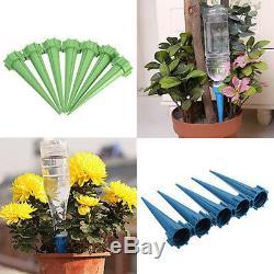 2X Garden Cone Watering Spike Plant Flower Waterers Bottle Irrigation System New