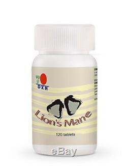 4 Bottles DXN Lion's Mane 120 Tablets Hericium Erinaceus Brain Immune System