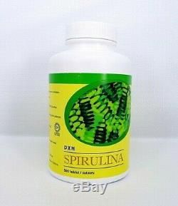 4 Bottles DXN Spirulina 500 Tablets Organic Antioxidant Immune System Booster