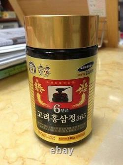 4 Bottles Korean 6Years Root Red Ginseng Extract 365 (240g x4EA)