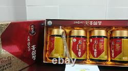4 Bottles Red Ginseng Extract Korean 6Years Root (240g x4EA)