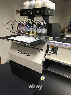 4 bottles, 8 Cartridge Bulk Ink Supply System For Roland FH-740 / XF-640 / XR-640