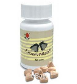 6 Bottles DXN Lion's Mane 120 Tablets Hericium Erinaceus Nerves Immune System