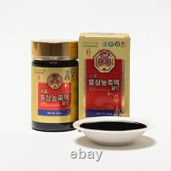6-YEARS KOREAN RED GINSENG EXTRACT GOLD (240 g 2 Bottles) / Ship to you EMS