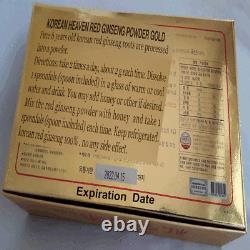 6-YEARS KOREAN RED GINSENG POWDER GOLD (100 g 3 Bottles) / Ship to you EMS