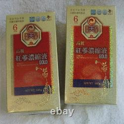 6-Years Korean Red Ginseng Extract Gold (240g2Bottles) / Anti-Aging