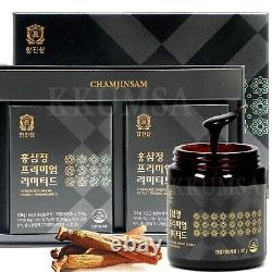 6 year Korean Red Ginseng Extract Premium Limited 240g (120g x2Bottle) Pure 100%