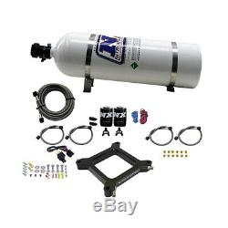 67540-15 Nitrous Express 4150 Assassin Plate System Pro Power With 15lb Bottle
