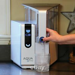 AQUA TRU REVERSE OSMOSIS WATER FILTRATION SYSTEM + 2 Bottles of MINERALS