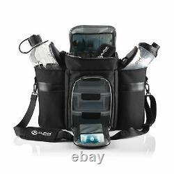 Alpha Designs Meal System Bag With Meal Boxes, Jug & Shaker Bottle