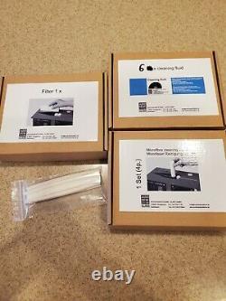 Audio Desk Systeme Ultrasonic Vinyl-Cleaner Machine Refresher-Kit 6 bottles