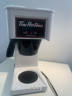 BUNN GRW Velocity Brew 10-Cup Tim Horton's Commercial Coffee Brewer, White VGUC