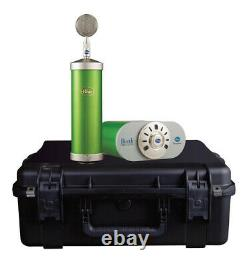 Blue Bottle Microphone System with SKB Case Custom Glassy Green 988-000044