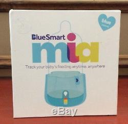 BlueSmart mia Smart Baby Bottle Feeding System Track & Analyze, Blue, New