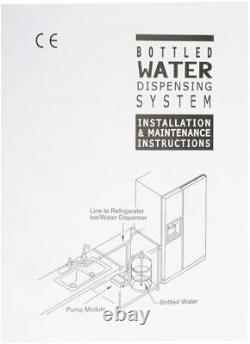 Bottled Water Dispenser Pump System for Coffee Brewer Ice-Maker Refrigerator 220