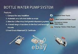 Bottled Water Dispenser Pump System for Coffee Brewer Ice-Maker Refrigerator D
