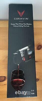 Brand New CORAVIN Model 1000 Wine System Orig. Box Capsules, Base, Bottle Sleeve