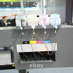 Bulk Ink System 4 Bottle 8 Cartridge Continuous for Roland FH-740/XF-640/XR-640