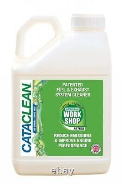 Cataclean 2 x 5000ml 5 Litres Workshop Bottle Fuel Exhaust System Cleaner 10L