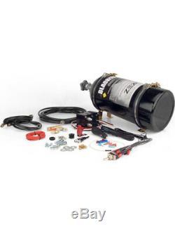 Comp Cams Nitrous Oxide System Blackout Wet 75-175 HP 10 lb Bottle Bla (82380B)