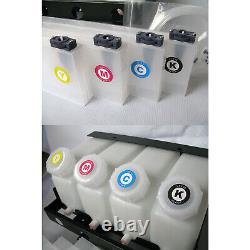 Continuous Bulk Ink Supply System For Roland FJ540 XC540 4 Bottles 4 Cartridge