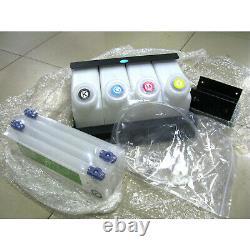Continuous Bulk Ink System DX5 Mimaki JV33/CJV30/JV5-4 Cartridges 4 Bottles USA