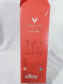 Coravin Model One Wine Bottle Opener and Preservation System 1 new Cartridge