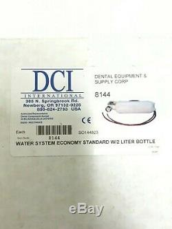 DCI Dental 8144 Economy Self-Contained Standard Water System with2 Liter Bottle