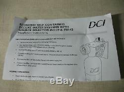 DCI ECONOMY SELF CONTAINED DELUXE WATER SYSTEM WithSOURCE SELECTOR 1 LITTER BOTTLE