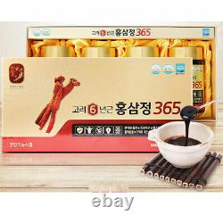 DHL Express Korean 6 Years Red Ginseng Extract 365, Saponin, Panax 240g x 4ea
