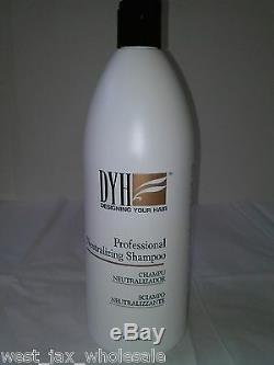 DYH Professional Hair Relaxer System Neutralizing Shampoo One New 32 Oz. Bottle
