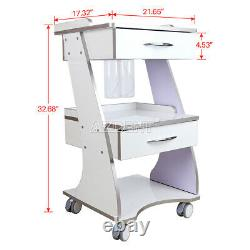 Dental Built-in Socket Trolley Mobile Metal With Auto-water Bottle Supply System