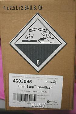 Diversey Suma Final Step Dispensing System #4603095 2.5L S5200