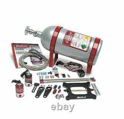 ED70050 Edelbrock RPM Nitrous Plate System NOS 10 lb. Bottle, Square Bore Kit