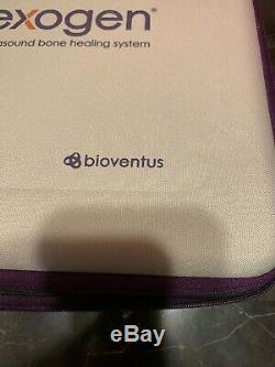 EXOGEN Ultrasound Bone Healing System Bioventus 1 gel bottle included New