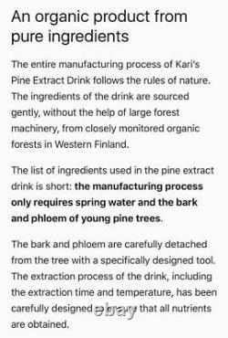 Fight viruses withimmune system boostOrganic Pine Bark Drink -case of 20 bottles
