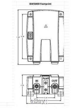 FloJet BW5020 Dual Wand Bottled Water System PLUS Xylem