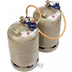 GOK two-bottle system Caramatic BasicTwo 50 mbar like TRUMA CHEAP NEW