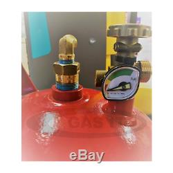 Gas It 11Kg Refillable Gas Bottle Including Easyfit Internal Fill Point System