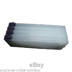 HOT! Mutoh Continuous Bulk Ink System 4 Bottles, 4 Cartridges for Mutoh RJ-900C