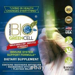 Immune System Support Formula Natural Antioxidants Healthy Living 8oz 4 bottles