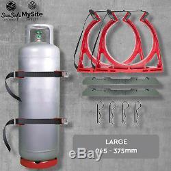 Large Bottle Chock Gas Bottle Holder G G2 S SE R BOTTLECHOCK Restraint System
