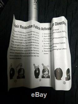MD Hair Restoration System Step 1 bottle only 0.14 oz / 4 ML brand new