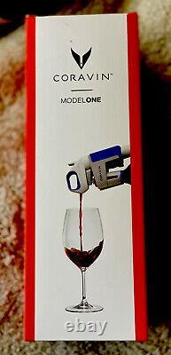 NEW Coravin Wine Bottle Opener Pourer Preservation System Model One 1 Blue