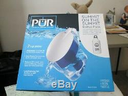 NEW NEVER USED PUR WATER FILTRATION SYSTEM CH-6000 With REFILLABLE BOTTLE